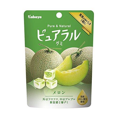 Gummy Melon (Kabaya Pureral Gummy Series (Melon, Single))