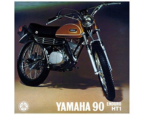 Amazon 1970 Yamaha 90 Enduro HT1 Motorcycle Factory Photo