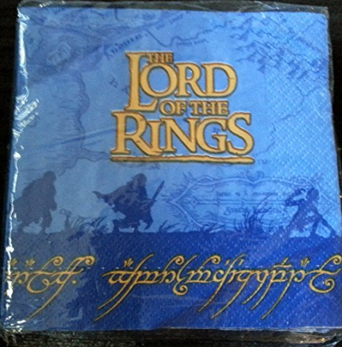 Lord of the Rings Party Napkins Cake Dessert Birthday (Lord Of The Rings Party)
