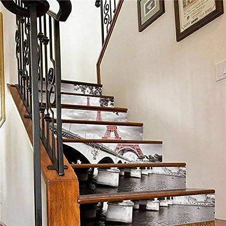Etiquetas engomadas de las escaleras Pastel delicioso Buen apetito Etiquetas engomadas de la escalera Decoración de la escalera Papel pintado impermeable de DIY Decoración del hogar for cumpleaños de: Amazon.es: Hogar