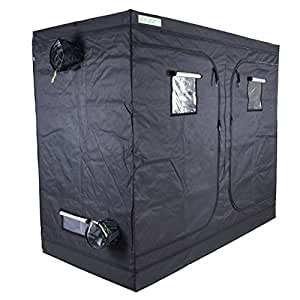 Zazzy Plant Growing Tents 600D Mylar Hydroponic Indoor Grow Tent for Plant Growing 96X48X80 Inch