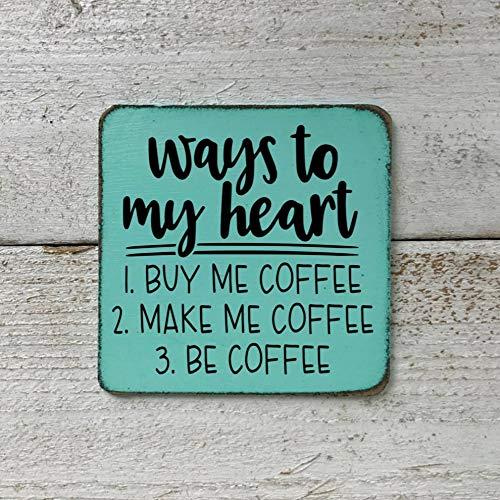 Ja242oe Ways to my Heart 1 Buy Me Coffee 2 Make Me Coffee - Imán ...
