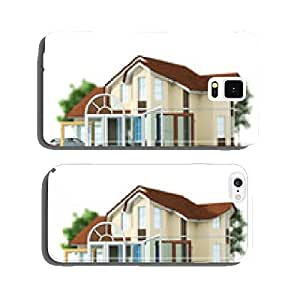 House with a choice of windows. Set of windows. cell phone cover case Samsung S5