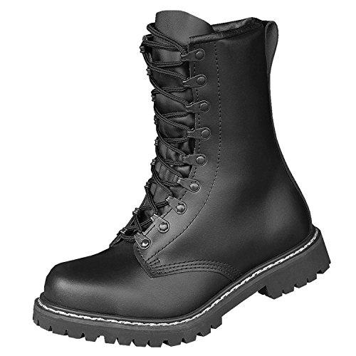Brandit schwarz Para Botas Negro Militares Botas rCqrxwnZH