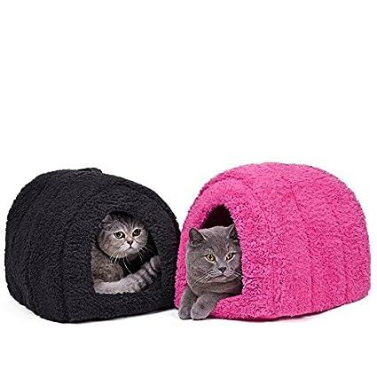 de la marca Pawz Road Cama con forma de cueva para mascotas