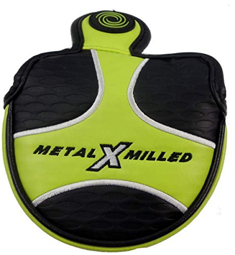 Odyssey Metal X Milled 2-ballグリーンMalletパター用ヘッドカバーヘッドカバーゴルフ B01N6RPIWT
