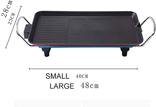 YXZQ Barbecue Grill, BBQ Power Smokeless Grill, Indoor
