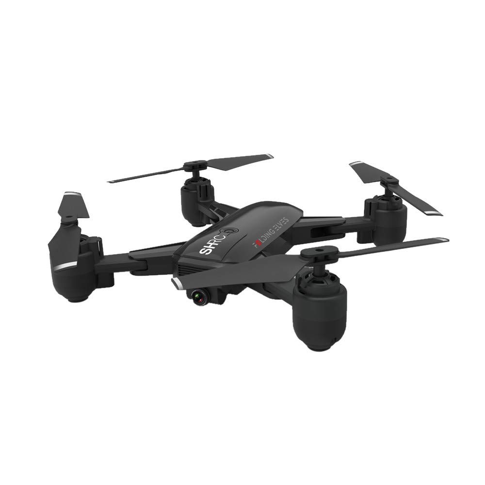 Toysgamer 2019 Tianya Drone X Pro 5G Selfie WiFi FPV GPS with HD 1080P Camera Foldable RC Quadcopter Gift for Friends and Family (Black)