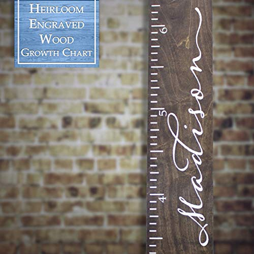 engraved growth chart - 2