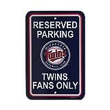 Minnesota Twins MLB Plastic Parking Sign