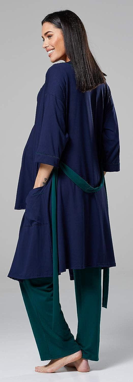 HAPPY MAMA Femme Maternit/é Ensemble Pyjama//Pantalon//Haut//Robe Chambre 558p