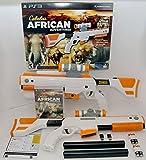 PS3 Cabela's African Adventures Game w/Top Shot Elite Rifle Set 2-GUN BUNDLE