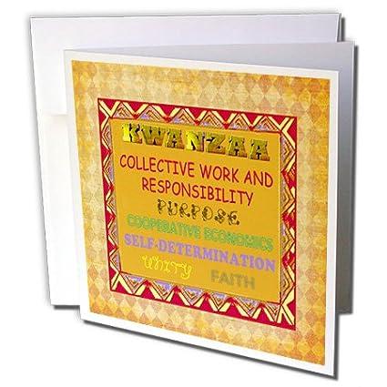 Amazon meaning of kwanzaa english greeting cards 6 x 6 meaning of kwanzaa english greeting cards 6 x 6 inches set of m4hsunfo