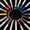 200-Count (10 x 20-Pack) TEGEHAO Premium Metallic Marker Pens