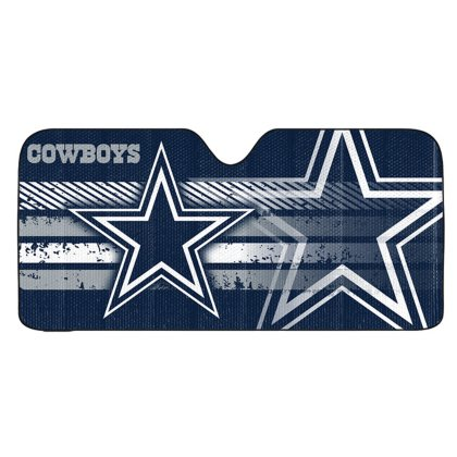 NFL Dallas Cowboys Universal Auto Shade, Blue