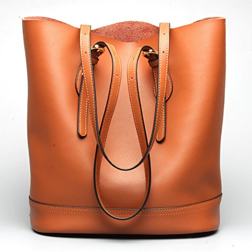GUANGMING77 _Handtasche Schultertasche Handtasche Schaufel brown