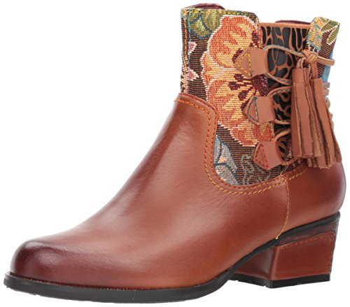 Bootie L'Artiste Medium Live Spring Ankle Brown Step Women's by TqxYPwqB7