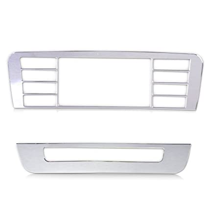 2pcs Console Control Button Cover Trim Frame fit for Benz A B Class GLA Class