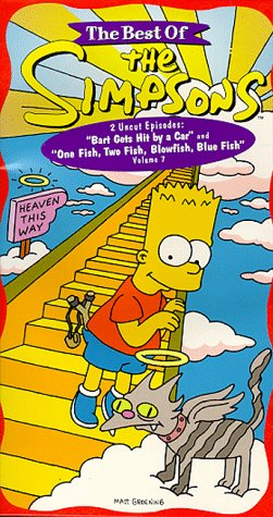 The Best of The Simpsons, Vol. 7 - Bart Gets Hit By a Car/ One Fish, Two Fish, Blowfish, Blue Fish [VHS] by 20th Century Fox