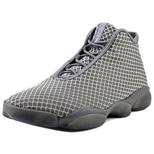 Nike Jordan Men's Jordan Horizon Wolf Grey/White/Dark Grey Basketball Shoe 11.5 Men US]()