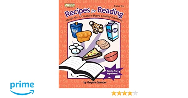 Amazon.com: Recipes for Reading: Hands-On, Literature-Based ...
