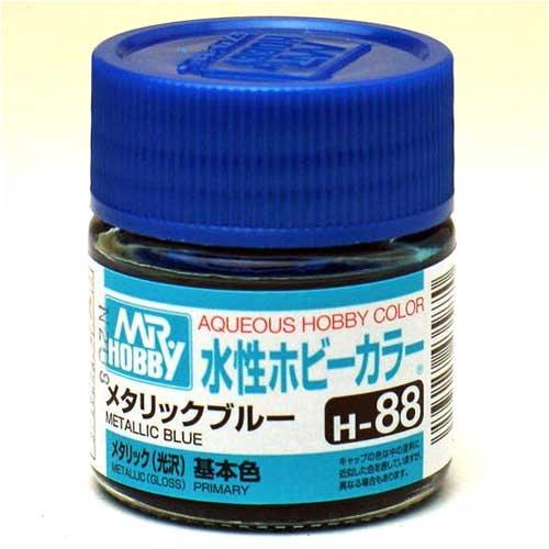 水性ホビーカラー H88 メタリックブルー