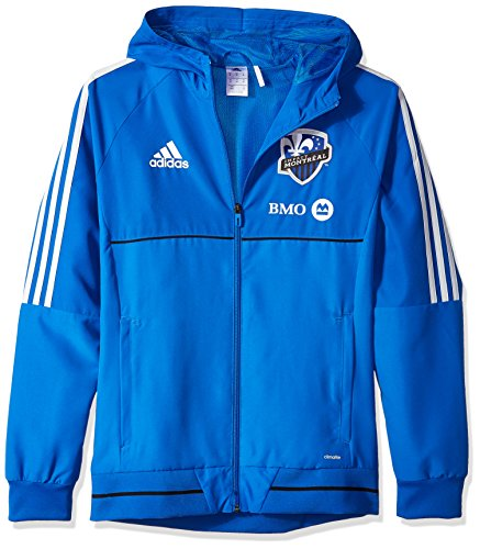 fan products of MLS Impact Montreal Adult Men Authetic Sideline Travel Jacket,Medium,Blue