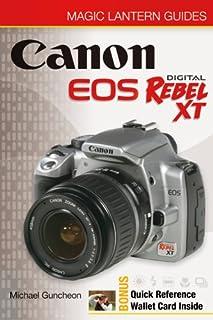 amazon com canon eos digital rebel xt guide to digital slr rh amazon com canon eos rebel xt instruction manual canon rebel xt operating manual