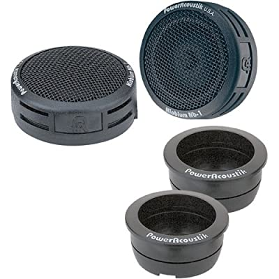 Power Acoustik NB-2 200-Watt 3-Way Tweeters, Standard Packaging,Black: Car Electronics