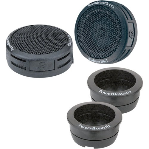 Power Acoustik NB-2 200-Watt 3-Way Tweeters ()