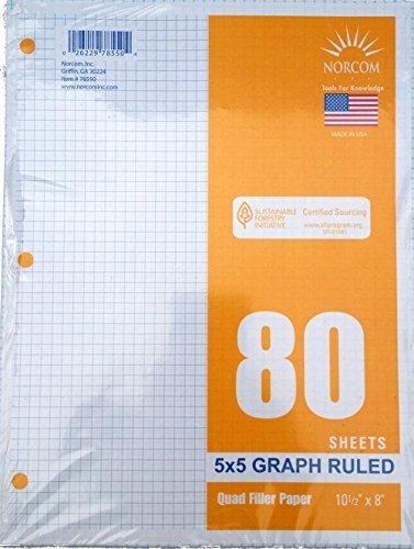 graph-filler-paper-5x5-ruled