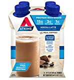 Atkins Gluten Free Protein-Rich Shake, Mocha Latte, 4 Count Review