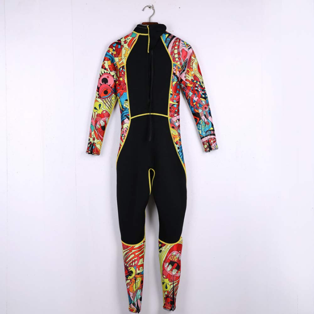 HBRT Muta da Sub da 3 mm per Donna Muta da Sub in Un Unico Pezzo Protezione dal Freddo Mantieni Caldo Costumi da Bagno Abbigliamento da Surf Snorkeling a Maniche Lunghe