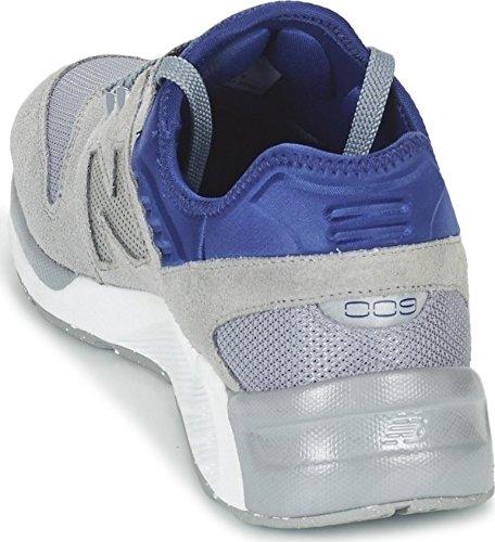 Nuovo Equilibrio Ml009-sg-d Scarpa Da Tennis Uomini Grigi (grigio / Blu Grigio / Blu)