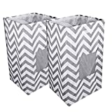 ABC life Laundry Basket Breathable Collapsible Hamper Cloth Sorter Removable Lining (Double) …