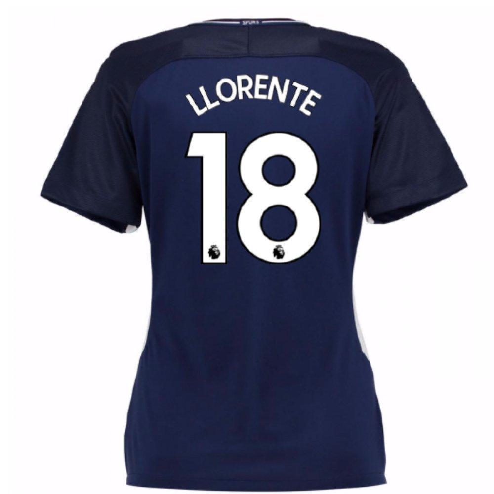 2017-18 Tottenham Damenschuhe Away Football Soccer T-Shirt Trikot (Fernando Llorente 18)