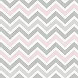 Carousel Designs Pink and Gray Chevron Toddler