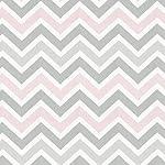 Carousel-Designs-Pink-and-Gray-Chevron-Crib-Bumper