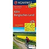 Köln - Bergisches Land: Fahrradkarte. GPS-genau. 1:70000 (KOMPASS-Fahrradkarten Deutschland, Band 3056)
