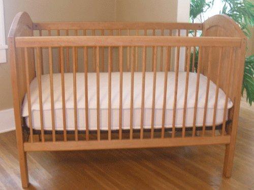 Sustainable Wool Crib Mattress Pad by Organic Caboose®