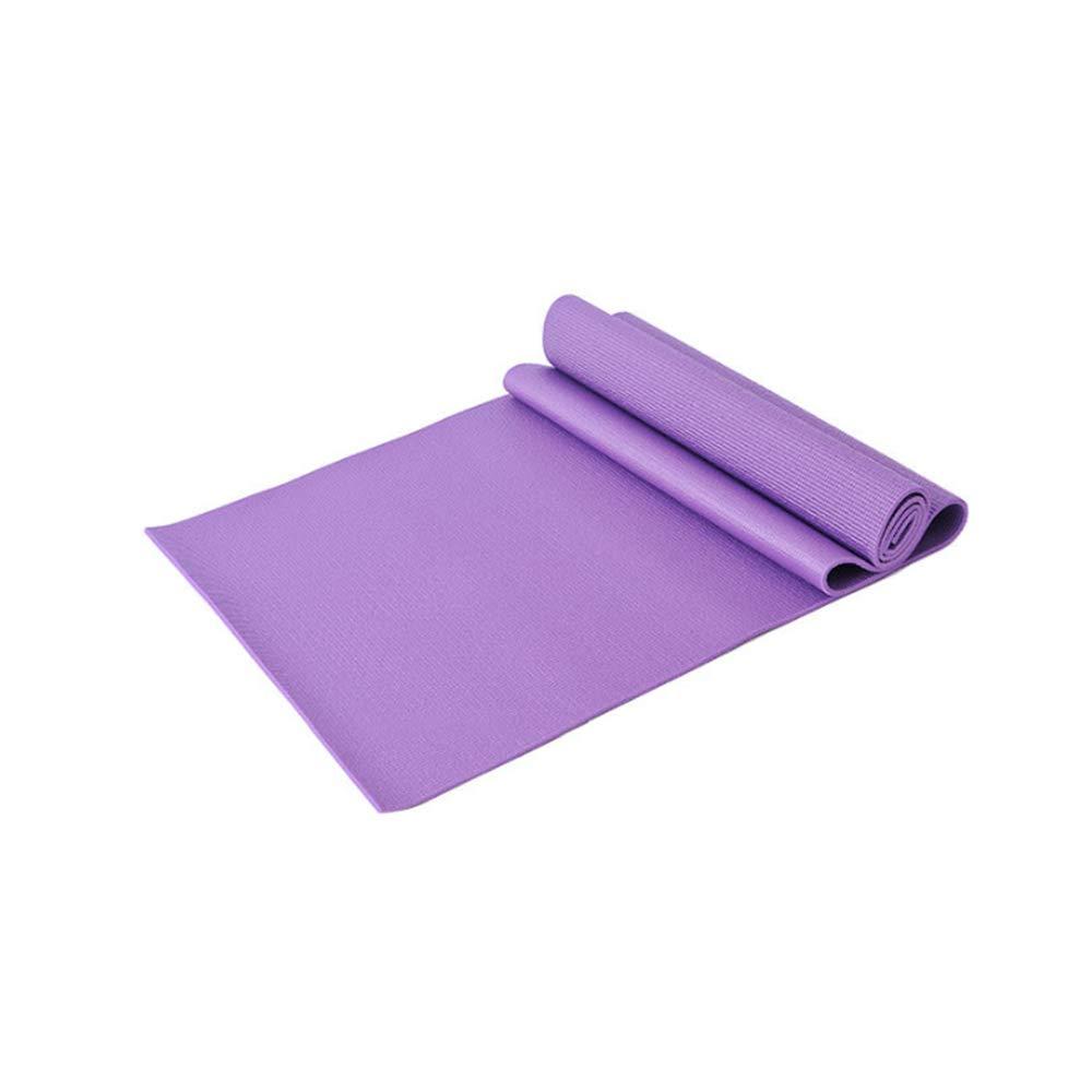 GSKTY Stuoia di Yoga di verde di Alta qualità di stuoia di Yoga di Alta qualità di 8MM stuoia di Yoga verde Opaco di Forma Fisica 173  61 CM