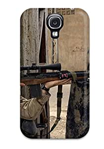 New UbsbJxC4376bmPDB Sniper Skin Case Cover Shatterproof Case For Galaxy S4 by supermalls