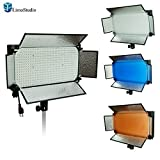 LimoStudio 600 LED Photo Video Light Barndoor Panel with Color Gel Filter , AGG1449