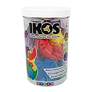 IKOS Spherical Construction Toys - Award Winning Kids Toys - STEAM Learning - Boys Toys and Girls Toys - Educational Toys - Brain Games for Kids - Teaches Coding - 30 Pc. Creator Set
