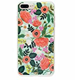 iphone 6 case rifle paper company - Rifle Paper Co iPhone 7 Plus Hard Case Mint Floral Everyday Protective Cover