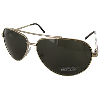 18d7c8bf3a Amazon.com  Kenneth Cole Reaction KC1247 6132N Men s Gold Aviator ...
