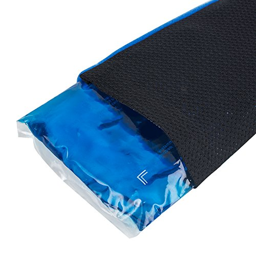 Zinnor Gel Ice Pack Reusable Hot & Cold Therapy Wrap Support Injury Recovery, Joint and Muscle Pain Relief for Knees, Back, Hand, Foot, Wrist, Elbow by Zinnor (Image #7)