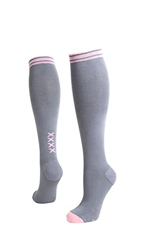 8ebc54a052 Image Unavailable. Image not available for. Colour: Lily Trotters Women's Designer  Athletic Compression Socks ...