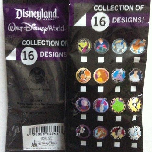 Disney Pin - Good Vs Evil - Mystery Pack - 90941