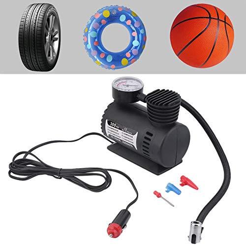 Mini 12V Inflator Pump Toys Sports Electric Pump Portable Mini Compact Compressor Pump Tyre Air Inflator